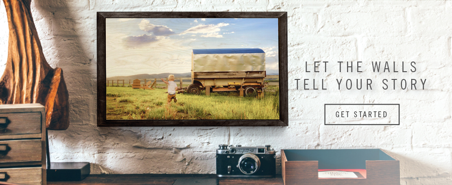 Let the walls tell your story. These wood prints will brighten any room!