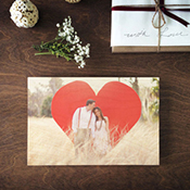 Couples Wood Print