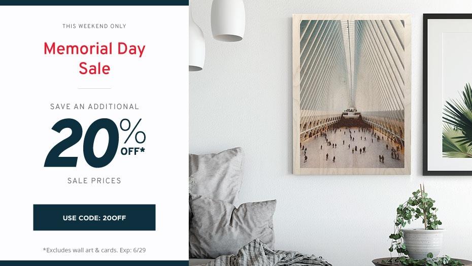 WoodSnap Memorial Day Sale