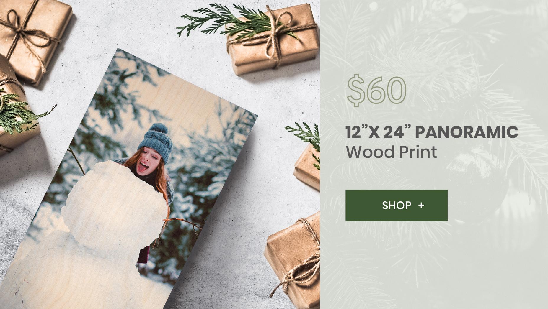 WoodSnap 12X24 panoramic print
