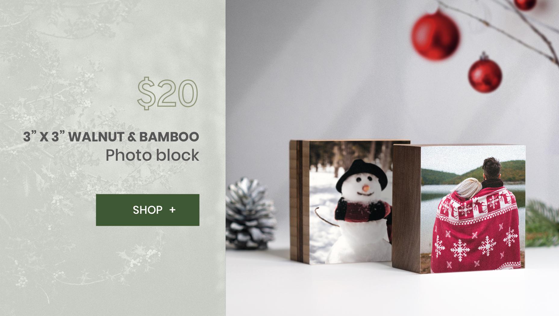 WoodSnap Wood Photo Blocks