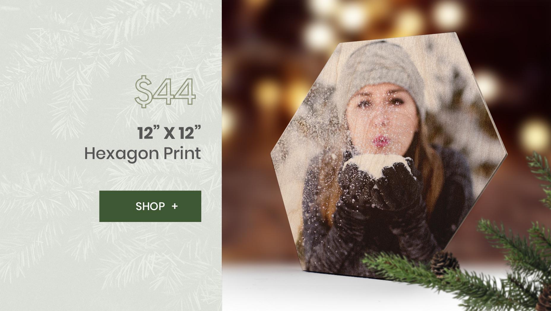 WoodSnap 12x12 Hexagon Deal