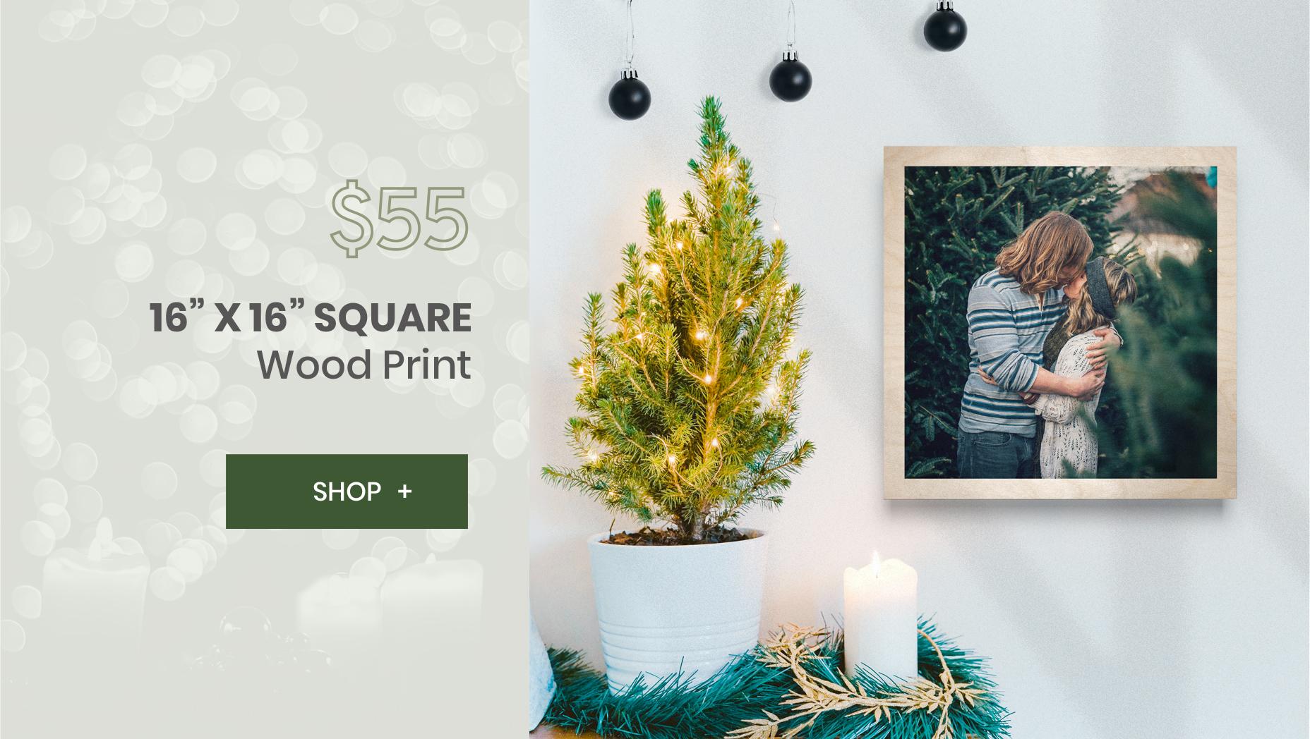 WoodSnap 16x16 Print Deal