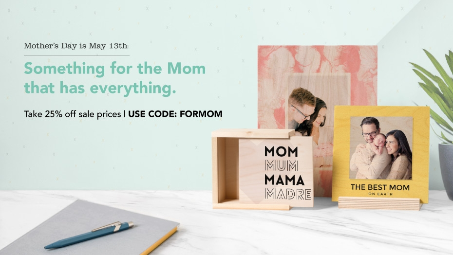 WoodSnap - The Mother's Day Sale