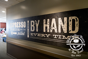 Coffee Bean - Wood Print Signs