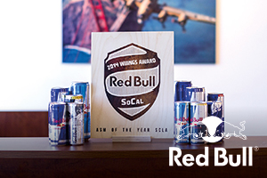 Red Bull - Wood Print Awards