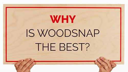 Why choose WoodSnap