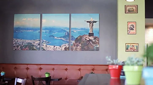 Tru Bru Coffee Wall Art